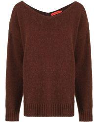 Manning Cartell Vネック セーター - ブラウン