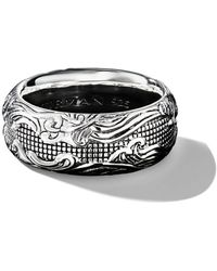 David Yurman Waves Band Ring - Black