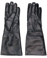 Ann Demeulemeester 19028602336 099 Black 100% Lamb Leather (ovis Aries Aries)