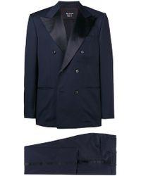 Kiton - Smoking Double Breasted Tuxedo - Lyst