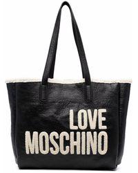 Love Moschino - ロゴ トートバッグ - Lyst