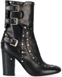 Laurence Dacade Merli Star Studded Boots - Black