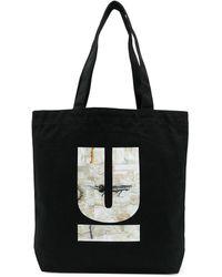 Undercover ロゴ トートバッグ - ブラック