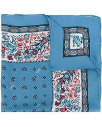 Polo Ralph Lauren フローラル スカーフ - ブルー