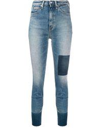 Calvin Klein - High-rise Skinny Jeans - Lyst