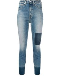 Calvin Klein Jeans - High-rise Skinny Jeans - Lyst