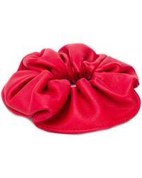Manokhi Coletero con diseño en capas - Rojo