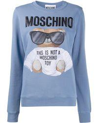 Moschino - テディベア スウェットシャツ - Lyst