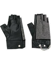 Karl Lagerfeld Перчатки K/seven Sparkle - Черный
