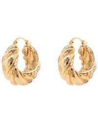 Rejina Pyo Gold-plated Twist Hoop Earrings - Metallic
