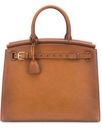Ralph Lauren Collection - Bolso shopper grande con asa - Lyst