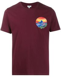 KENZO ランドスケープ Tシャツ - マルチカラー