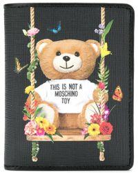Moschino - Teddy Bear Printed Wallet - Lyst