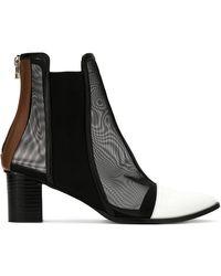Gloria Coelho | Mesh Panels Boots | Lyst