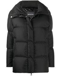 Duvetica Short Padded Coat - Black