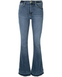 FRAME Flared Jeans - Blauw