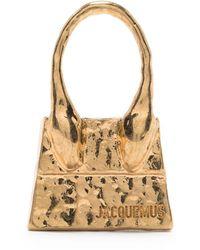 Jacquemus Le Chiquito Bag Stud Earring - Metallic
