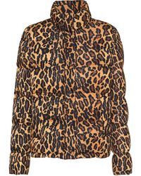 Miu Miu ツイル パデッドジャケット - マルチカラー