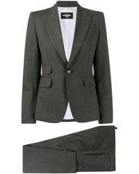 DSquared² - Plain Trouser Suit - Lyst