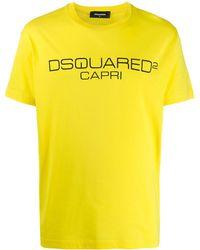DSquared² - Capri ロゴプリント Tシャツ - Lyst