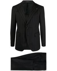 Tagliatore - ストライプ ツーピース スーツ - Lyst