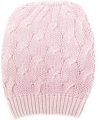 Cruciani - Cable Knit Beanie - Lyst