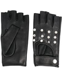 Manokhi Short Studded Gloves - Black