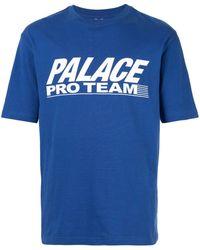 Palace Pro Team Tシャツ - ブルー