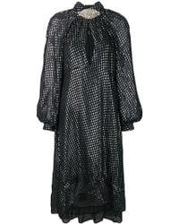 Dodo Bar Or - Vestido de manga larga con motivo - Lyst