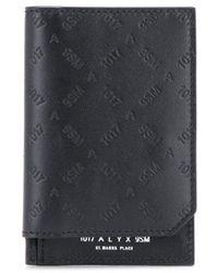 1017 ALYX 9SM Бумажник С Тисненым Логотипом - Черный