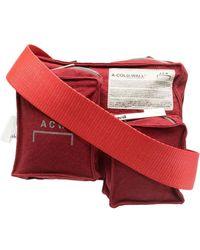 A_COLD_WALL* Сумка Tri-pocket Utility Holster - Красный