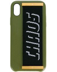 Chaos Elastic Hand Hug Iphone X Case - Зеленый
