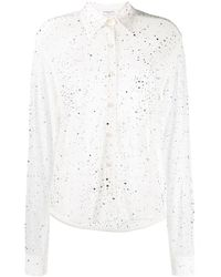Givenchy デコラティブ シャツ - ホワイト
