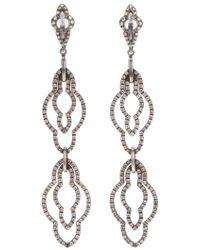 Loree Rodkin - Drop Diamond Earrings - Lyst