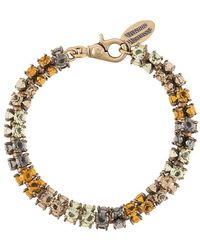 Vivienne Westwood Crystal-embellished Choker - Yellow