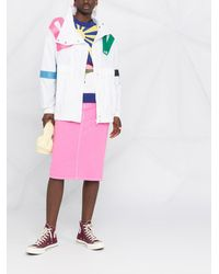 Love Moschino Куртка На Молнии С Логотипом - Белый