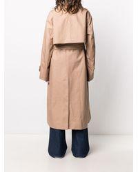 AMI ベルテッド シングルコート - ナチュラル
