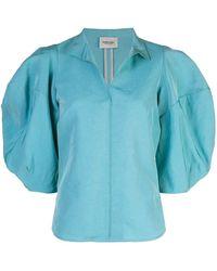Rachel Comey Top Amplus - Azul