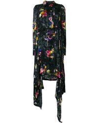 Preen By Thornton Bregazzi - Amelia floral asymmetric dress - Lyst
