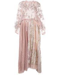 Biyan スパンコール ドレス - ピンク