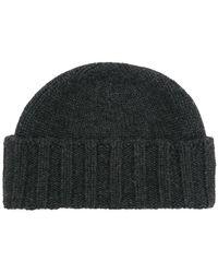 Drumohr - Cable Knit Beanie - Lyst
