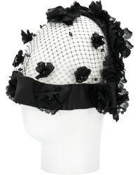 Dolce & Gabbana - Floral Net Hair Accessory - Lyst