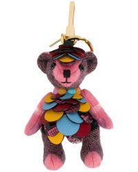 Burberry - Thomas Bear Charm - Lyst