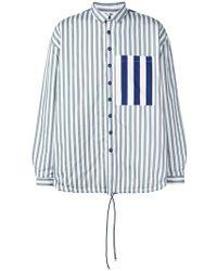 Sunnei - Striped Shirt - Lyst