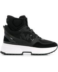 MICHAEL Michael Kors Sneakers alte con applicazione - Nero