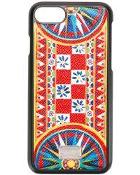 Dolce & Gabbana | Mambo Print Iphone 7 Case | Lyst