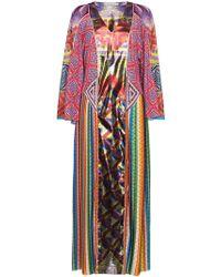Mary Katrantzou - Lapwing Patchwork Kaftan Dress - Lyst