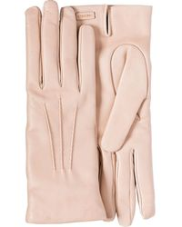 Prada Leather Gloves - Pink