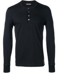 Tom Ford T-shirt a maniche lunghe