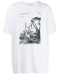 Off-White c/o Virgil Abloh - Ruined Factory Tシャツ - Lyst